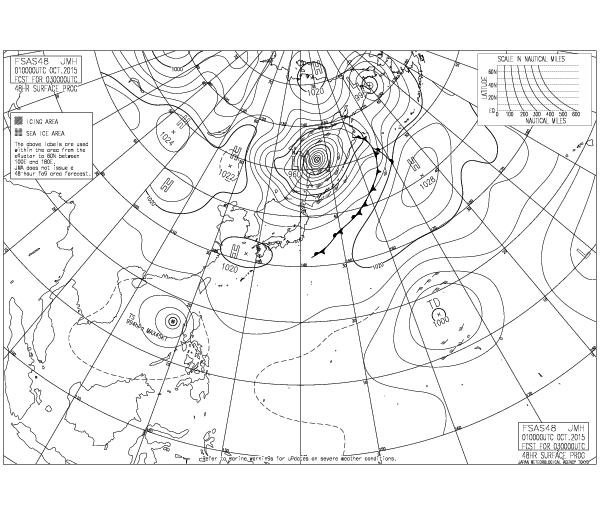 10月3日9時 気象庁ホームページ