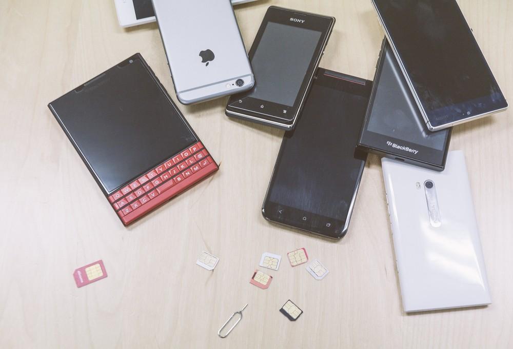 variety-of-phone