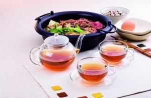 ティーライフのダイエットプーアール茶食事