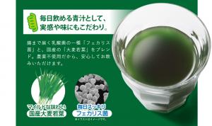 藻のすごい青汁 乳酸菌