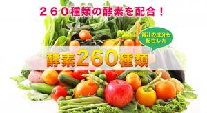 サプリシエイト ナチュラル スムージー 効果 260種類の食物酵素